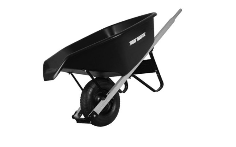Ames CP6PS Poly Wheelbarrow