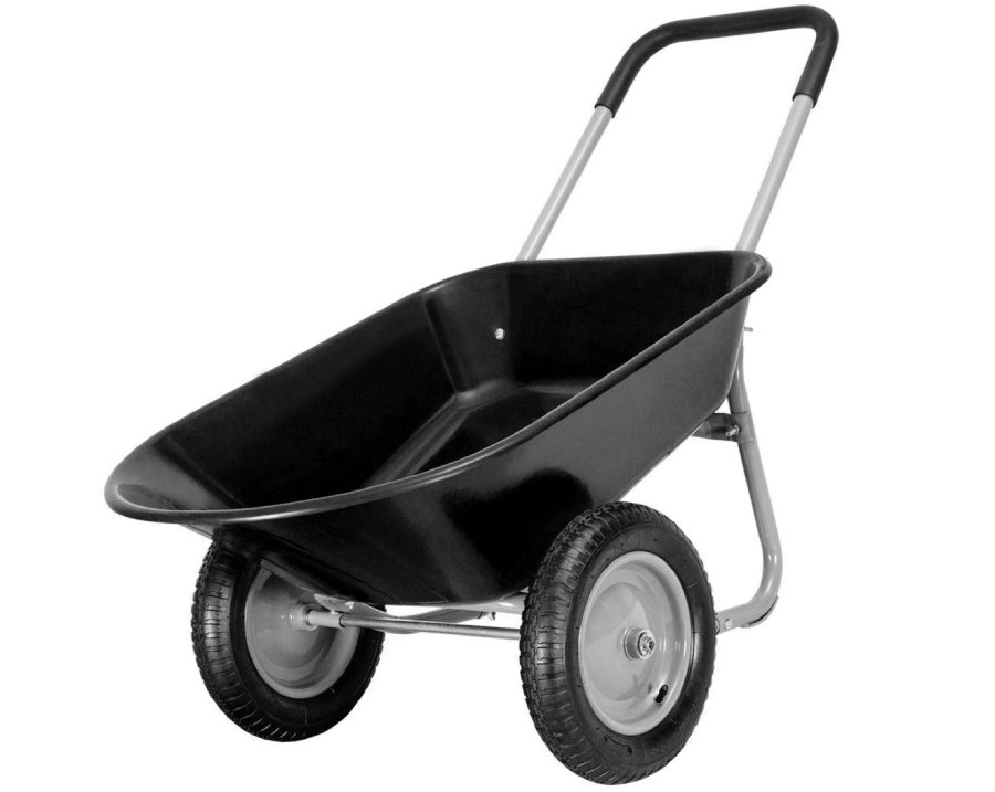 Giantex 2 Tire Wheelbarrow