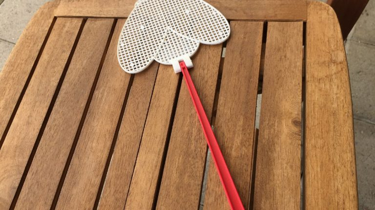 Fly Swatter on the Table