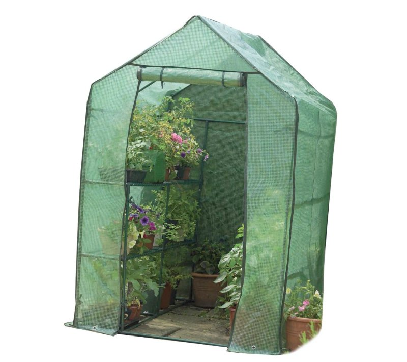 Gardman 7622 Walk-In Greenhouse with Shelving