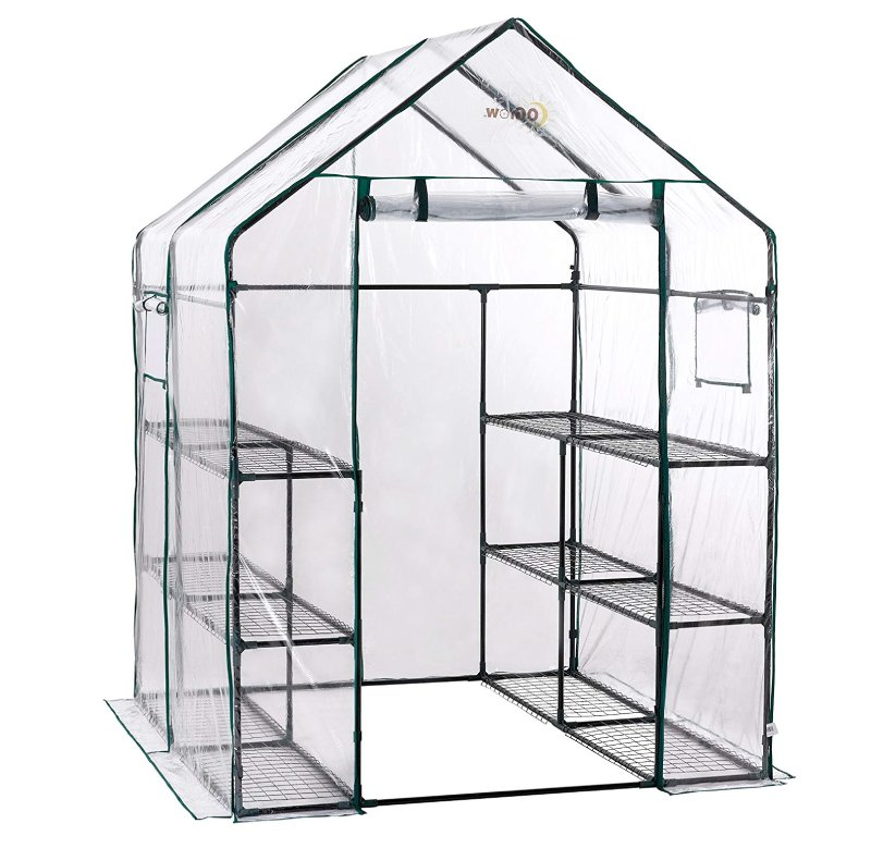 OGrow OG6868-D Deluxe Walk-in 6 Tier 12 Shelf Portable Greenhouse