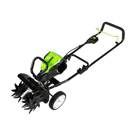 Greenworks TL80L00 10-Inch 80V Cordless Tiller